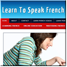 Learn French Niche Site