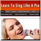 Learn To Sing Site