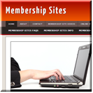 Memberships Website