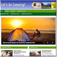 Camping PLR Blog