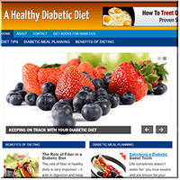 Diabetic Diet PLR