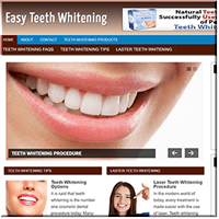 Teeth Whitening Website
