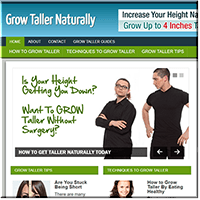 Grow Taller PLR Blog
