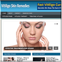 Vitiligo PLR Website