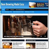 Beer Brewing PLR Site