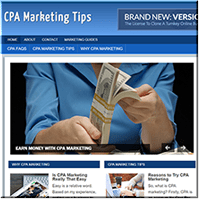 CPA Marketing PLR Site