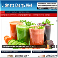 Energy Diet Website