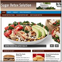 Sugar Detox PLR Site