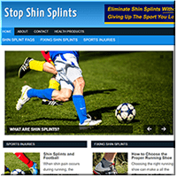 Shin Splints PLR Site
