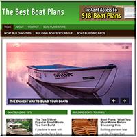Boat PlansPLR Website