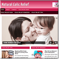 Colic Relief PLR Website