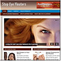 Eye Floaters PLR Site