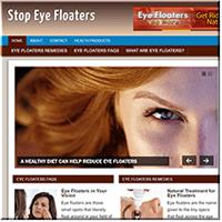 Eye Floaters PLR Site
