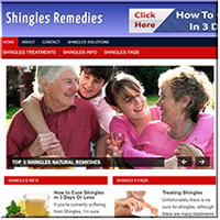 Shingles Remedy PLR Site