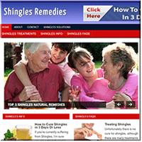 Shingles Remedy PLR Site