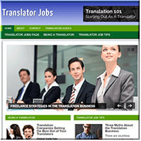Translator Jobs PLR Site