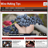 Wine Making PLR Website