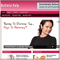 Bulimia PLR Website