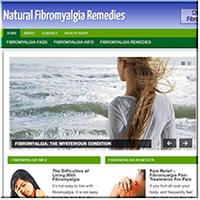 Fibromyalgia PLR Website