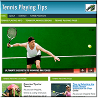 Play Tennis PLR Site
