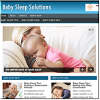 Baby Sleep PLR Site