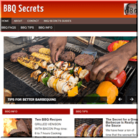 BBQ Secrets PLR Site