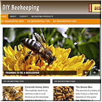 DIY Beekeeping PLR Site