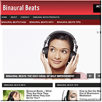 Binaural Beats PLR Site