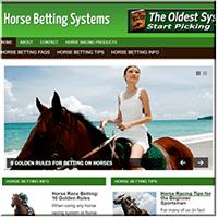 Horse Racing PLR Site