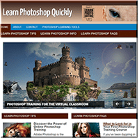 Learn Photoshop PLR Site