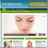 Anti Aging PLR Blog