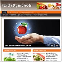 Organic Foods PLR Site