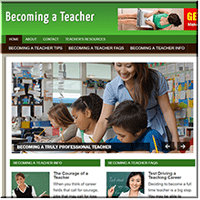 Becoming Teacher Site