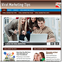 Viral Marketing PLR Site