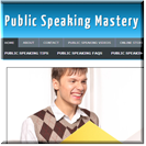 Public Speaking Site