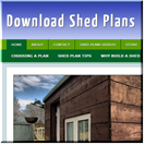 Shed Plans Site