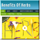 Herbs PLR Blog