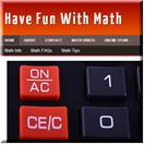 Math Fun Niche Site