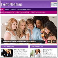 Event Planning PLR Blog