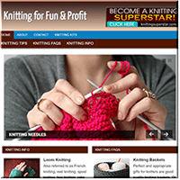 Knitting PLR Website