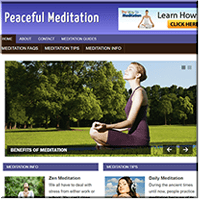 Meditation PLR Blog