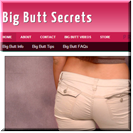 Big Butt Secrets