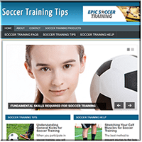 Soccer Training PLR