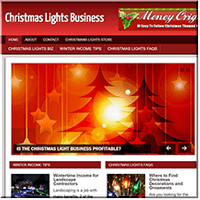 Christmas Lights PLR