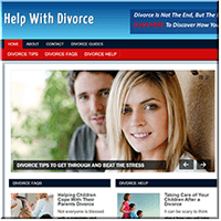 Help With Divorce PLR