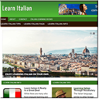 Learn Italian PLR Blog