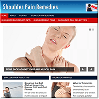 Shoulder Pain PLR Blog