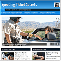 Speeding Ticket PLR