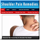 Shoulder Pain Remedies