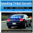 Speeding Ticket Secrets